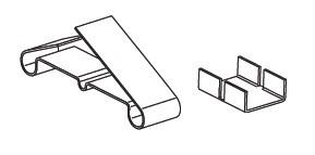 Зажим крепежный БРН/Т.2-50 Ц (упак. 50шт.)
