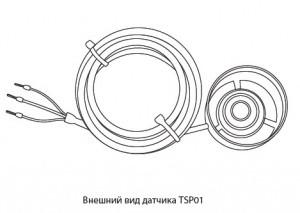 Датчик осадков TSP01-10,0