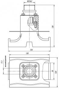 Устройство ввода под теплоизоляцию УВК.0200