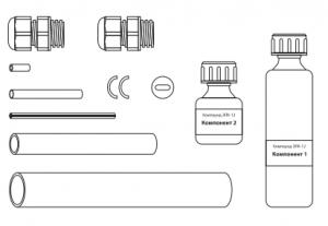 Комплект ремонтный для секций из бронированного кабеля (нагр.-нагр.)