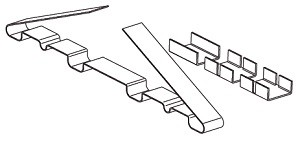 Зажим крепежный СР/2Т.4-50 Ц