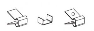 Зажим крепежный СР/К.1-25 ЦО(упак. 50шт.)