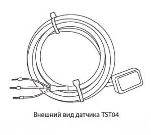 Датчик температуры TST04-2,0-П (+45 до +50)