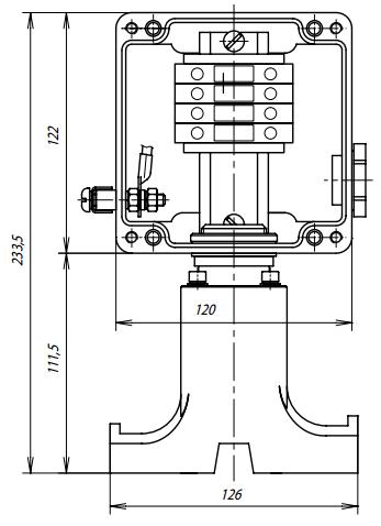 Коробка соединительная УСК 12.Р