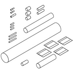 Термоусаживаемый набор Raychem TE-01-CR