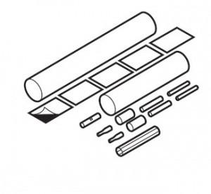Термоусаживаемый набор Raychem VIA-СE1