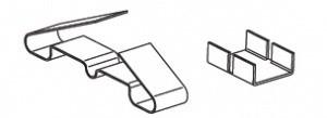 Зажим крепежный СР/Т.2-50 Ц (упак. 50шт.)