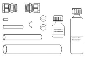 Комплект ремонтный для секций из бронированного кабеля (нагр.-монт.)