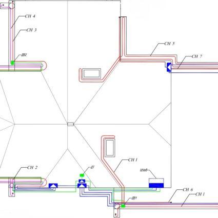 Проектирование систем кабельного обогрева